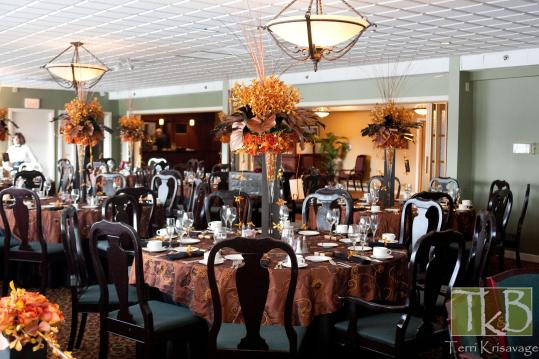 dramatic arrangements wethersfield country club